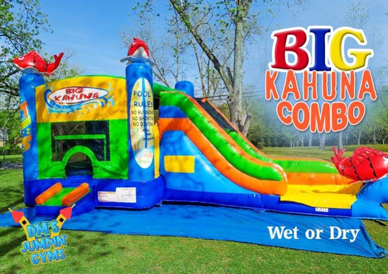Big Kahuna Bounce House Water Slide Combo