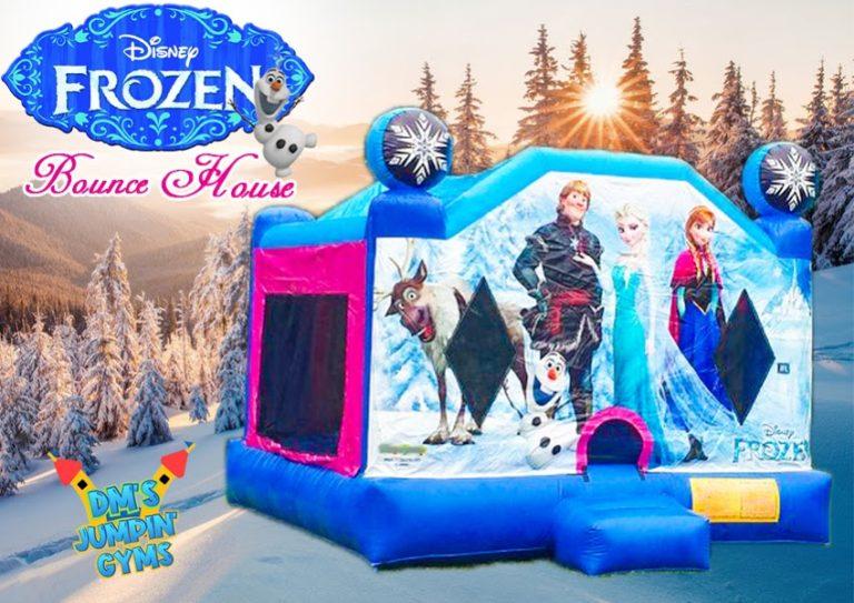 Frozen Themed Bounce House Rental