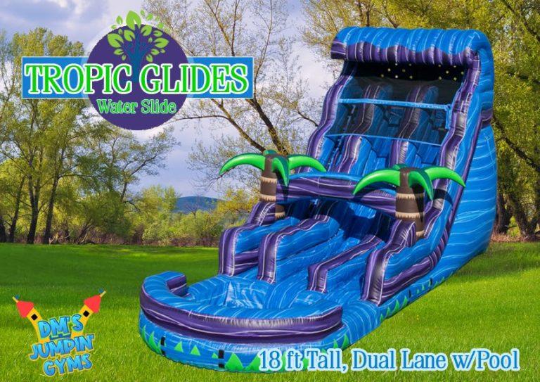 Dual-Lane-Water-Slide