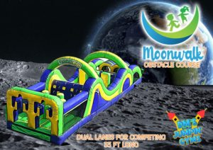 Moonwalk Obstacle Course