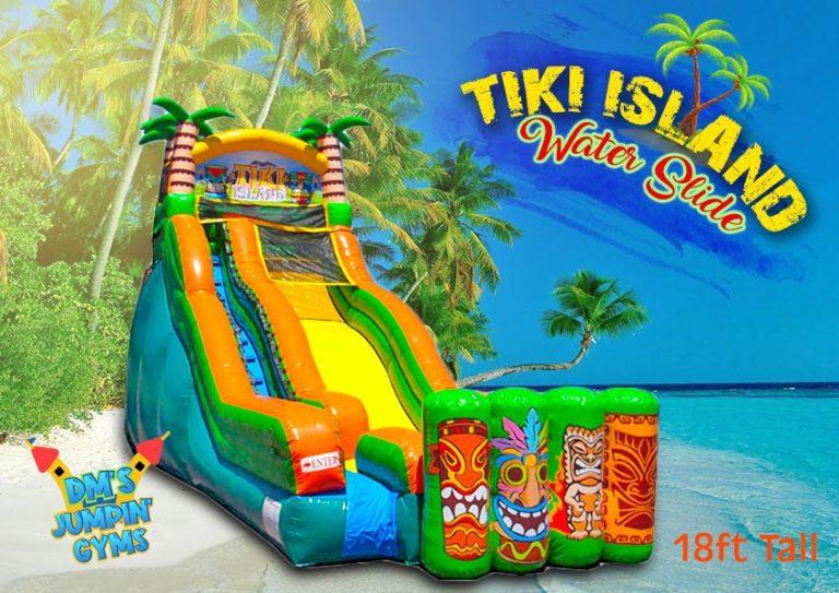 Tiki Island Water Slide
