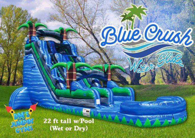 Blue Crush Water Slide