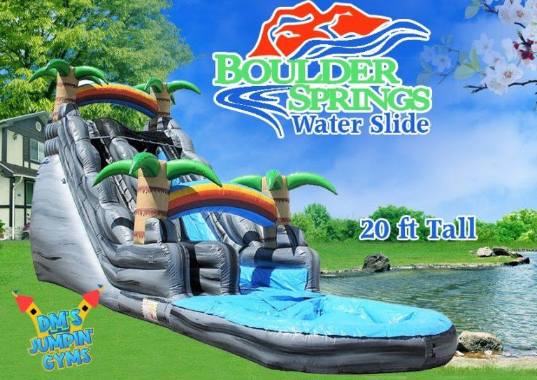 Boulder Springs Water Slide
