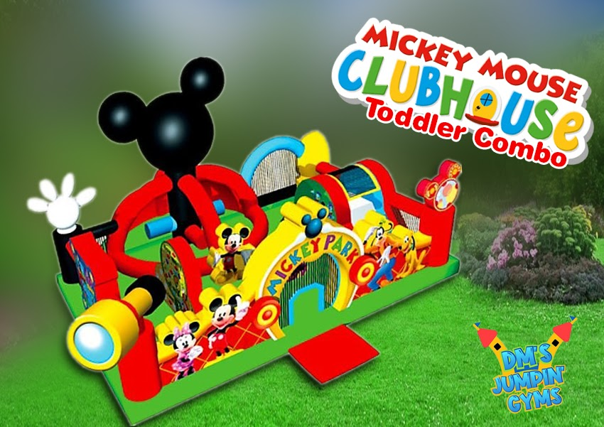 Mickey Mouse Bounce House for Toddlers