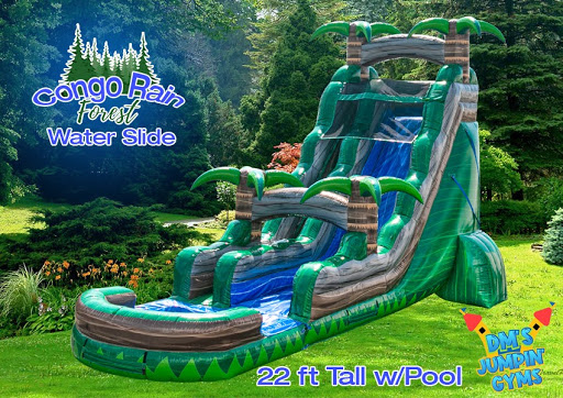 Congo Rain Forest Water Slide
