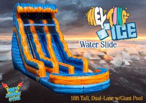 Double Lane Water Slide
