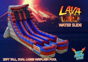Lava Rush Water Slide
